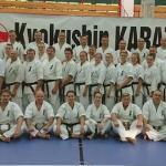 karatecy z Kalisza na szkoleniu w Wałczu